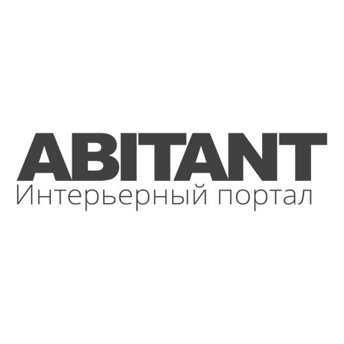 Abitant logo white