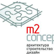 M2 logo main arhitekturno stroitelnaya kompaniya m2 kontsept med