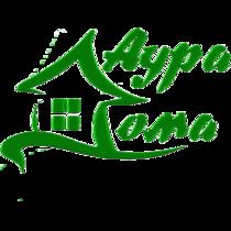 Logotip15naklon1 aura doma med