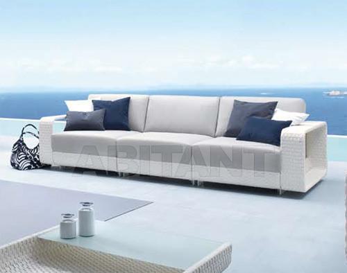 Купить Диван для террасы Hamptons Roberti Rattan Greenfield 9613