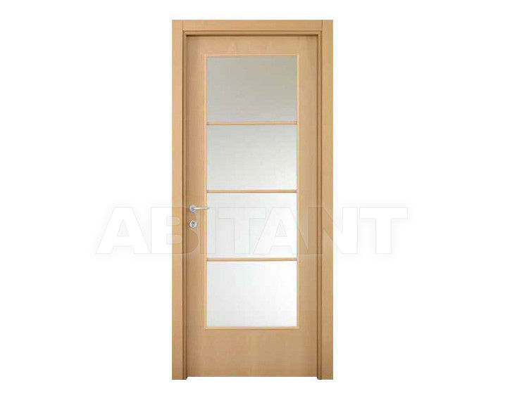 "Купить Дверь  стеклянная Dorica Castelli Essenze SERIE ""L"" modello 6/4"