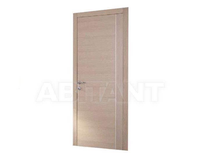 "Купить Дверь деревянная Dorica Castelli Essenze SERIE ""LT"" modello 410 + ALLUMINIO VERTICALE"