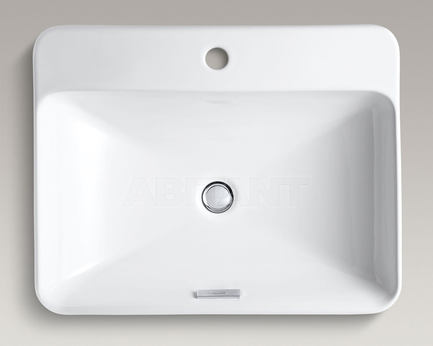 Раковина накладная Vox Rectangle белая Kohler K-2660-1-0 ...