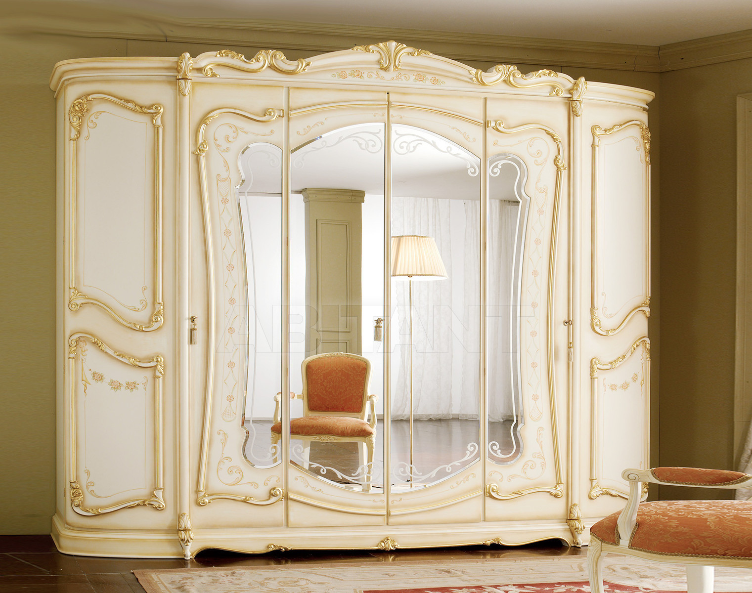 Купить Шкаф гардеробный ROYAL Alberto & Mario Ghezzani I Classici A.11