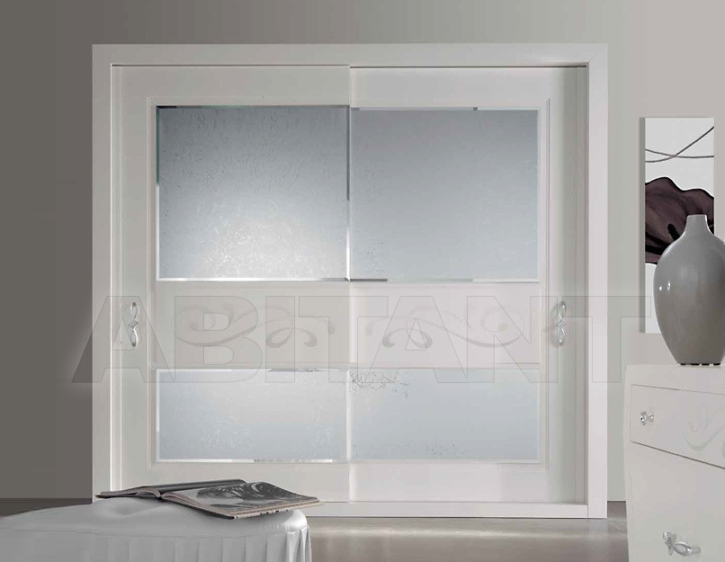 Купить Шкаф гардеробный Vrinel Forever ARMADIO Chanel CON SPECCHI ICE MOLATI