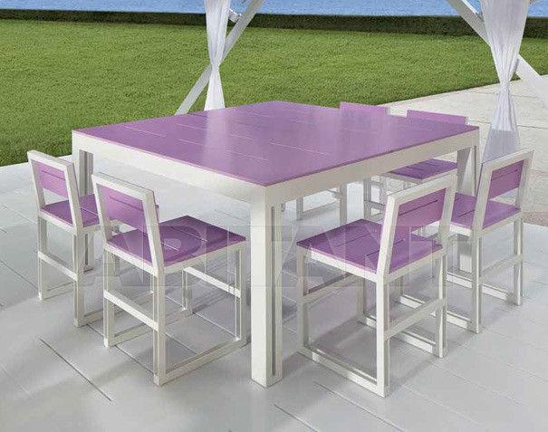Купить Стол обеденный ZERODIECI Tao Esterno BT-MQ1200-C