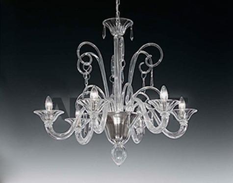 Купить Люстра Voltolina Classic Light srl Glam&glass Susp. Bach 6L