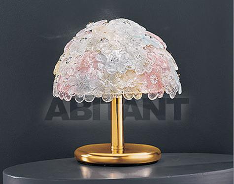 Купить Лампа настольная Voltolina Classic Light srl Glam&glass FLORA Lumetto 1L