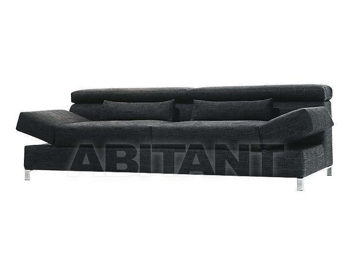 Купить Диван Biba Salotti srl Italian Design Evolution aliant Divano cm 204 con due movimenti di seduta