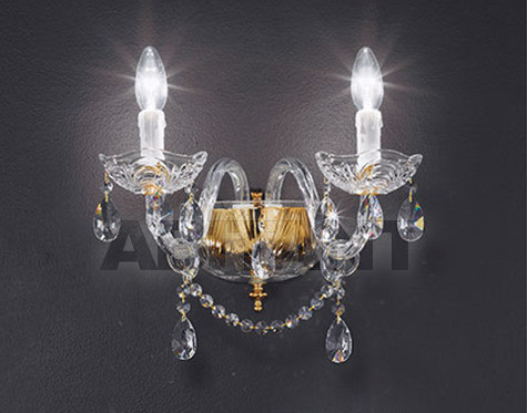 Купить Бра Voltolina Classic Light srl Cristallo Siviglia Wall lamp
