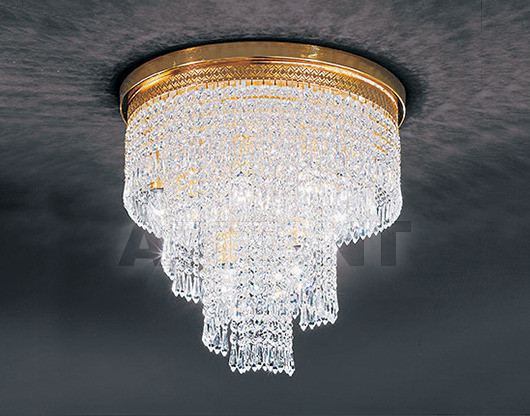 Купить Люстра Voltolina Classic Light srl Cristallo Twister Spiral Ø 40 H 35