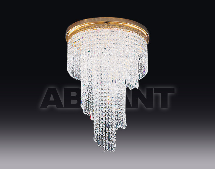 Купить Люстра Voltolina Classic Light srl Cristallo  Twister  Spiral Ø 40 H 100