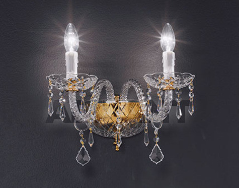 Купить Бра Voltolina Classic Light srl Cristallo Valencia  Wall lamp 2L
