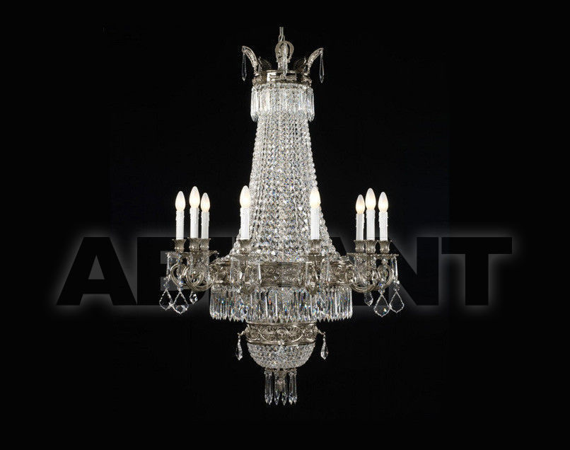 Купить Люстра Badari Lighting Candeliers With Crystals B4-608/10+2