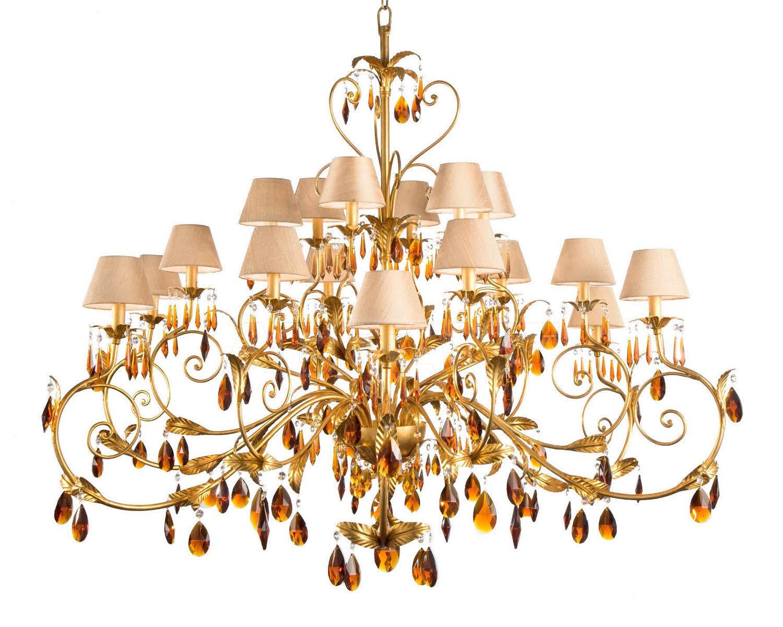 Купить Люстра Acqua Eurolampart srl Opera & Light 2763/18LA 2
