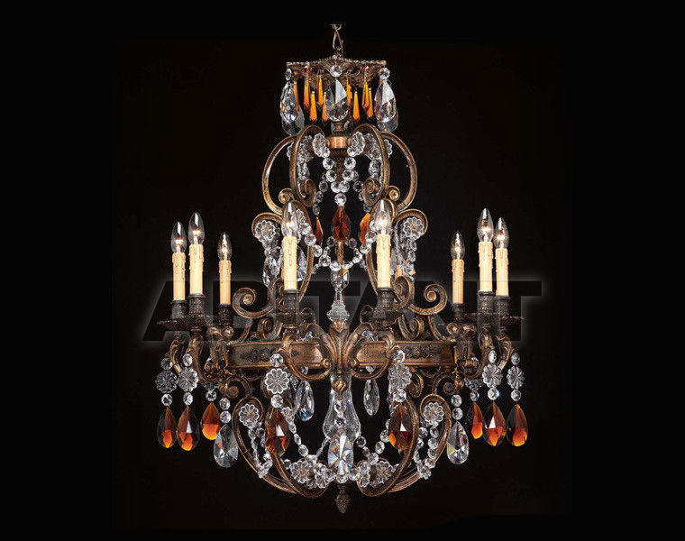 Купить Люстра Badari Lighting Candeliers With Crystals B4-443/10