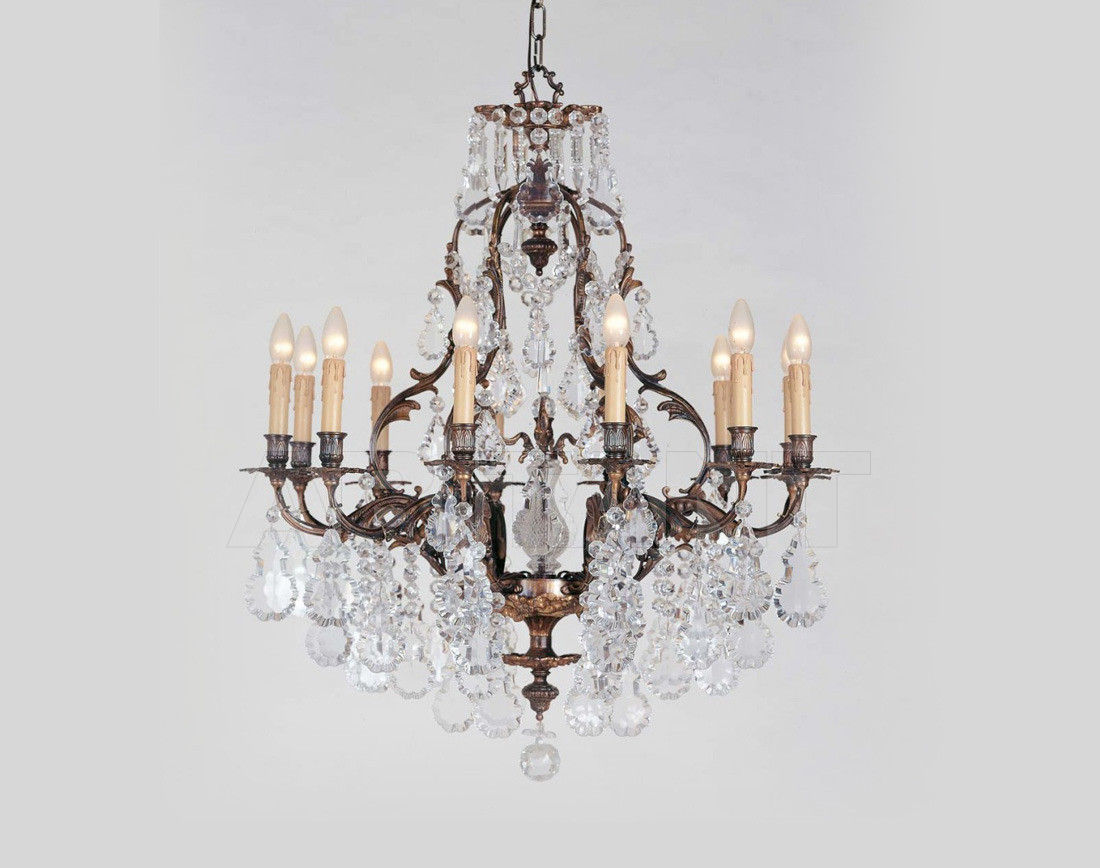 Купить Люстра Badari Lighting Candeliers With Crystals B4-25/12