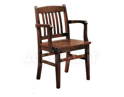 Купить Стул с подлокотниками Rossin & Braggion Abitare-nel-classico Art. 141 Capotavola fondo legno