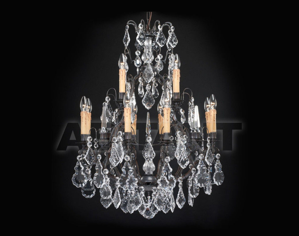 Купить Люстра Badari Lighting Candeliers With Crystals B4-16/12