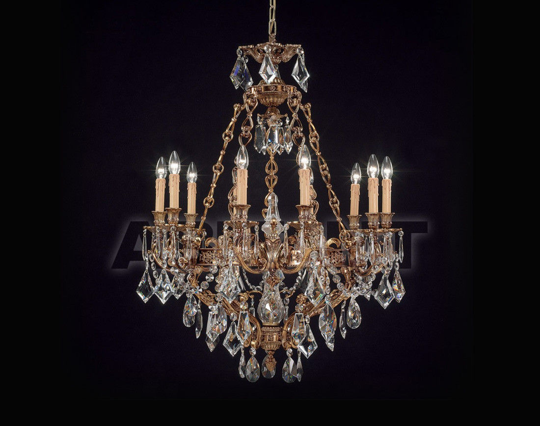 Купить Люстра Badari Lighting Candeliers With Crystals B4-440/10
