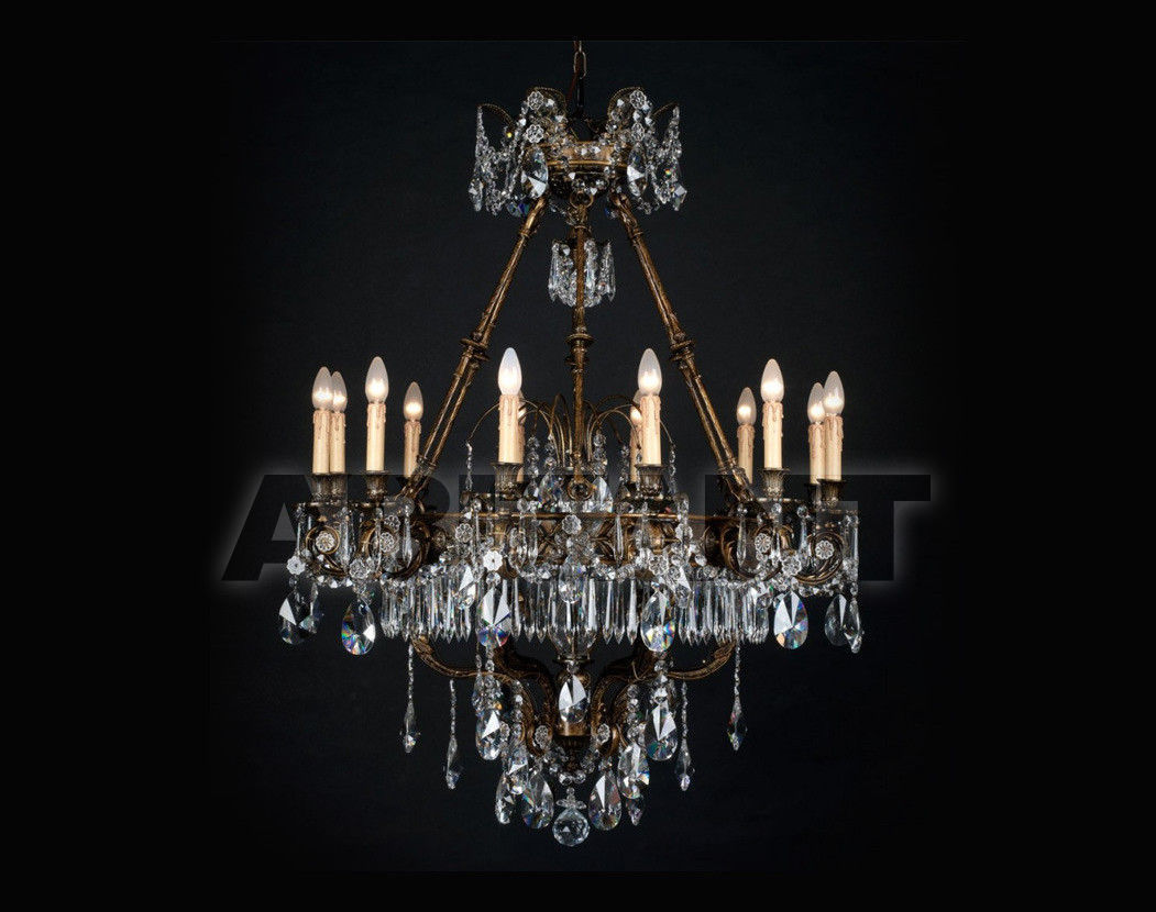 Купить Люстра Badari Lighting Candeliers With Crystals B4-709/12