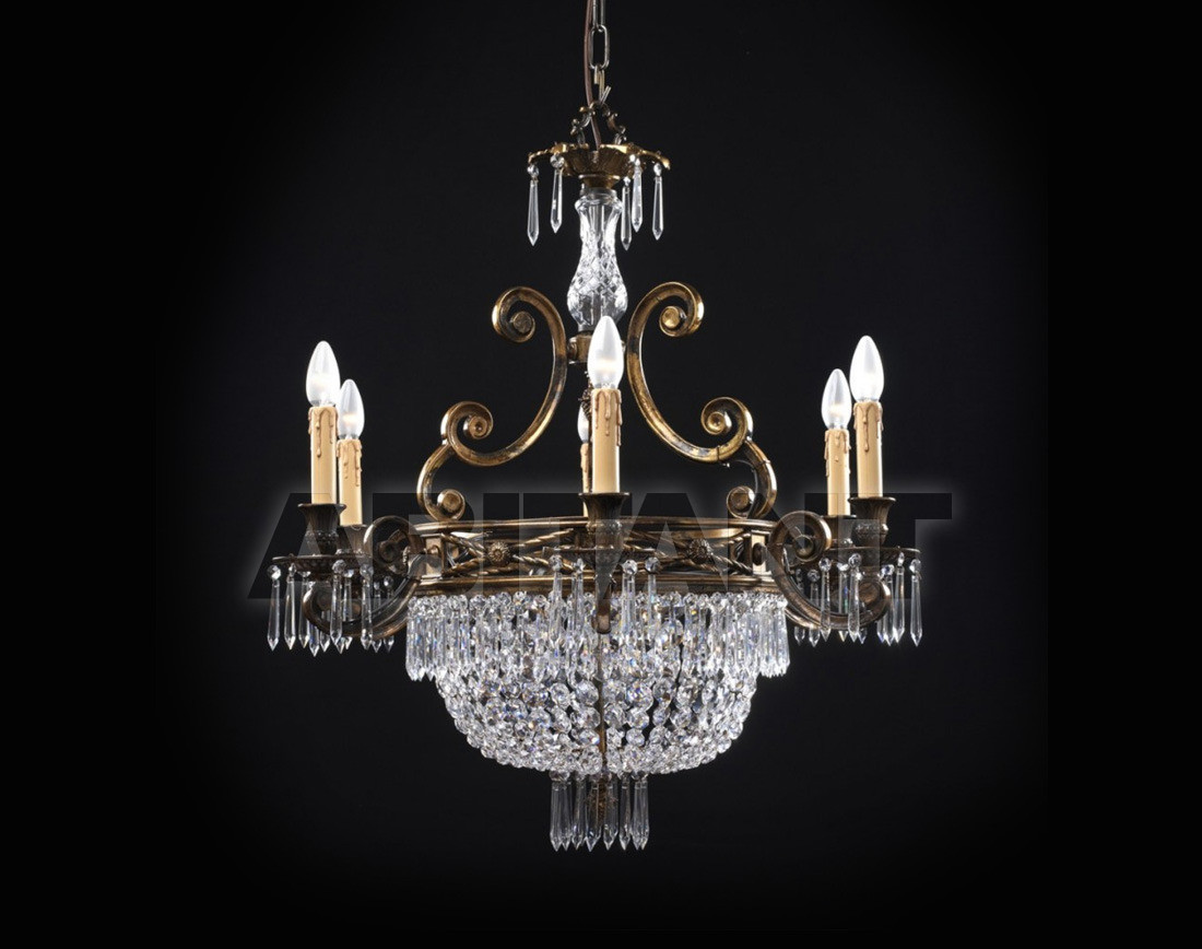 Купить Люстра Badari Lighting Candeliers With Crystals B4-707/6+3