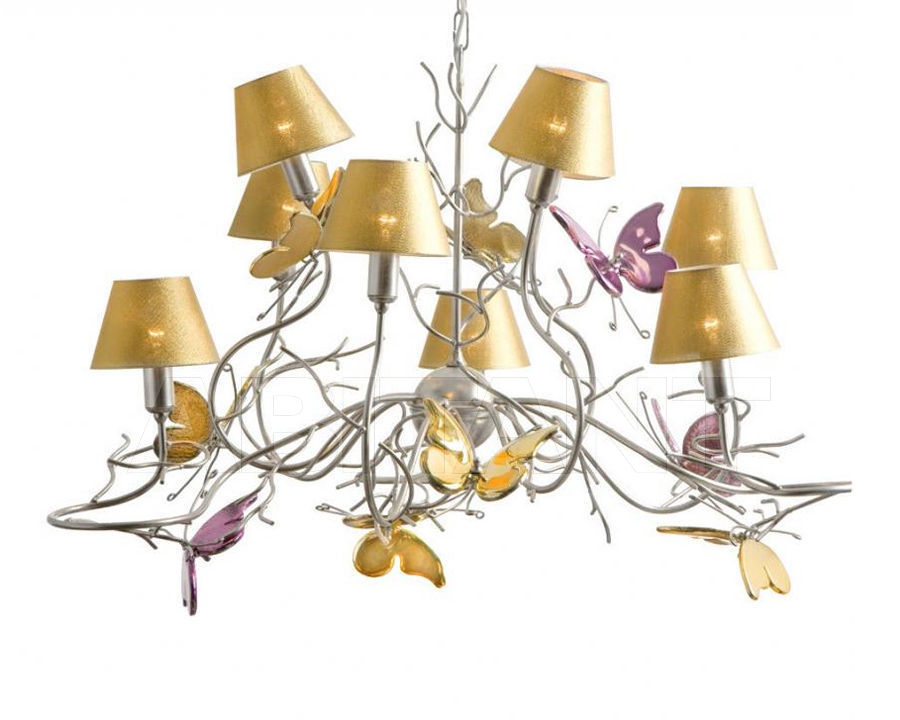Купить Люстра Butterfly Eurolampart srl Decor & Light 2473/09LA
