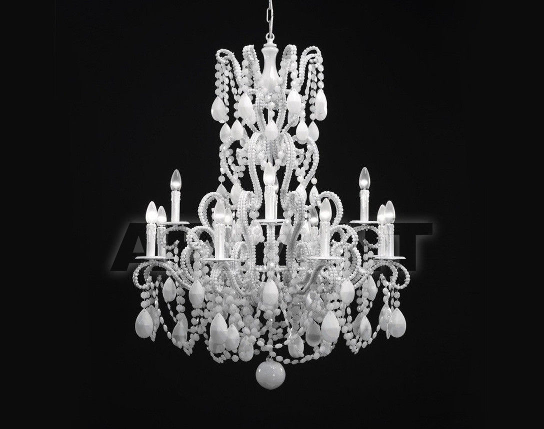 Купить Люстра Badari Lighting Candeliers With Crystals B4-57/12WHITE