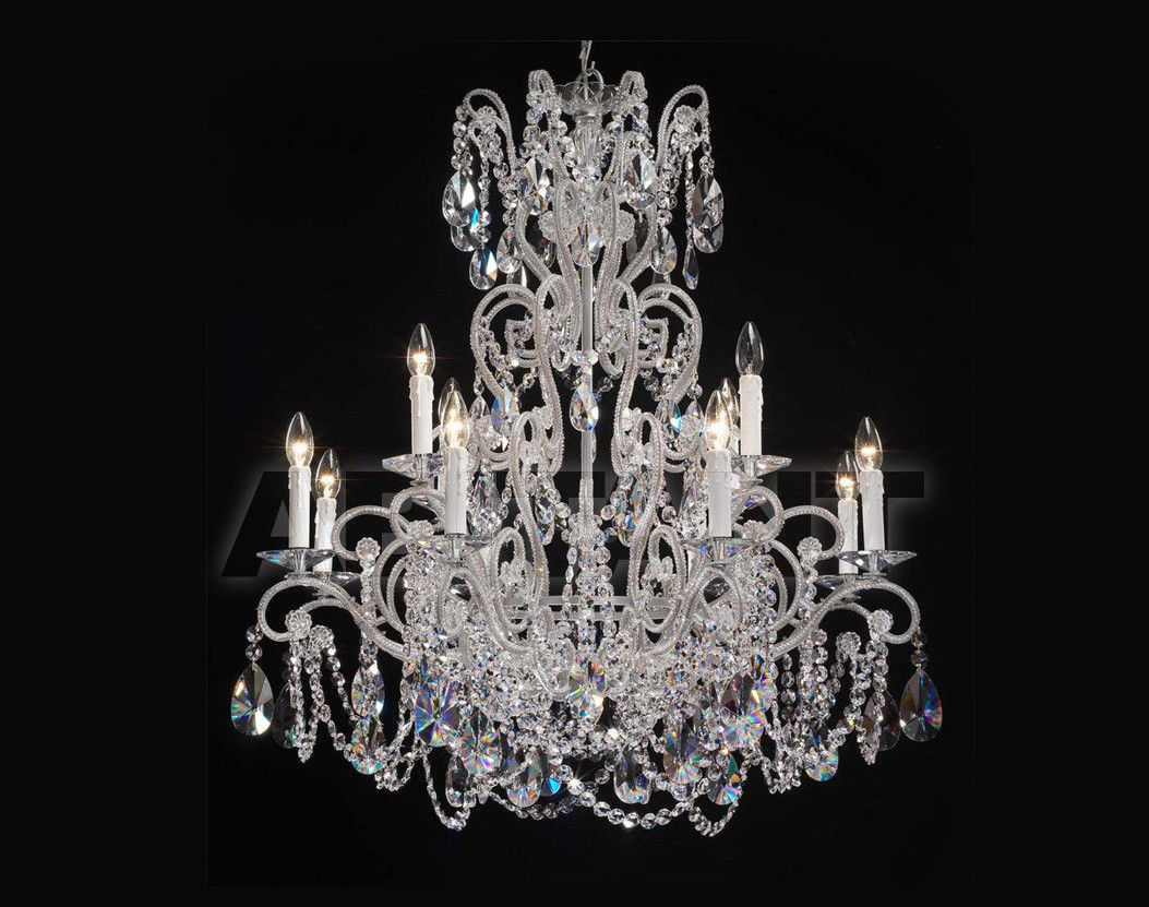 Купить Люстра Badari Lighting Candeliers With Crystals B4-57/12