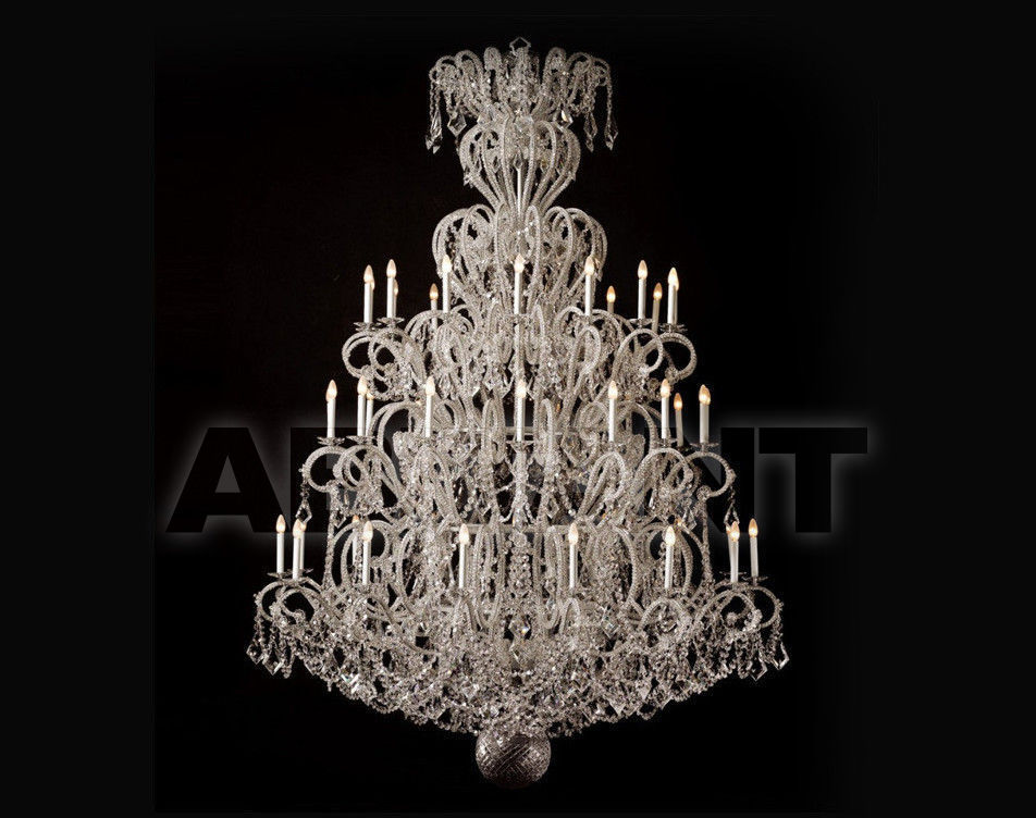 Купить Люстра Badari Lighting Candeliers With Crystals B4-57/45AF