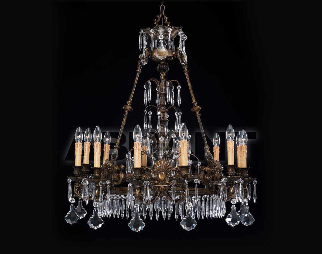 Купить Люстра Badari Lighting Candeliers With Crystals B4-417/12