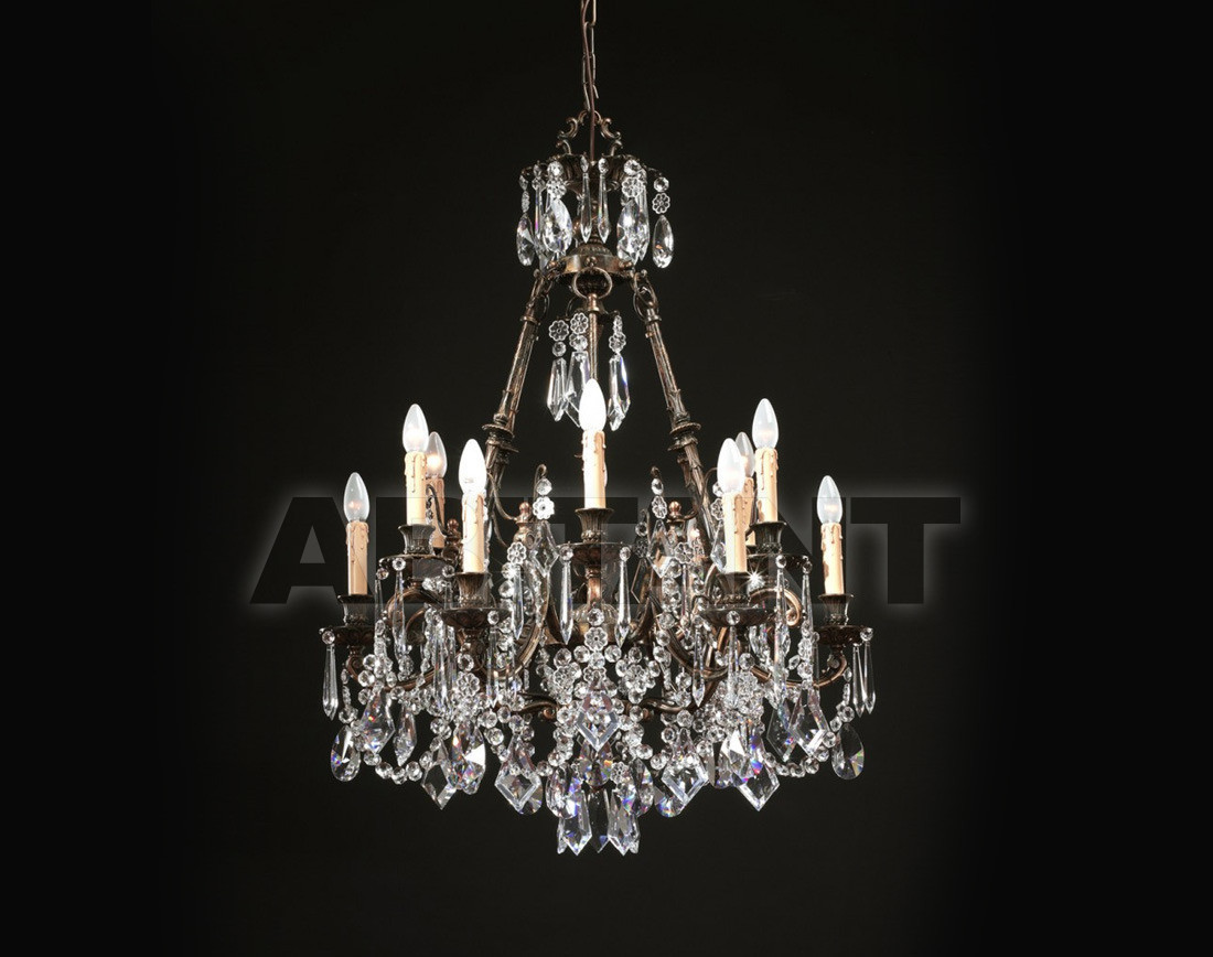 Купить Люстра Badari Lighting Candeliers With Crystals B4-455/12