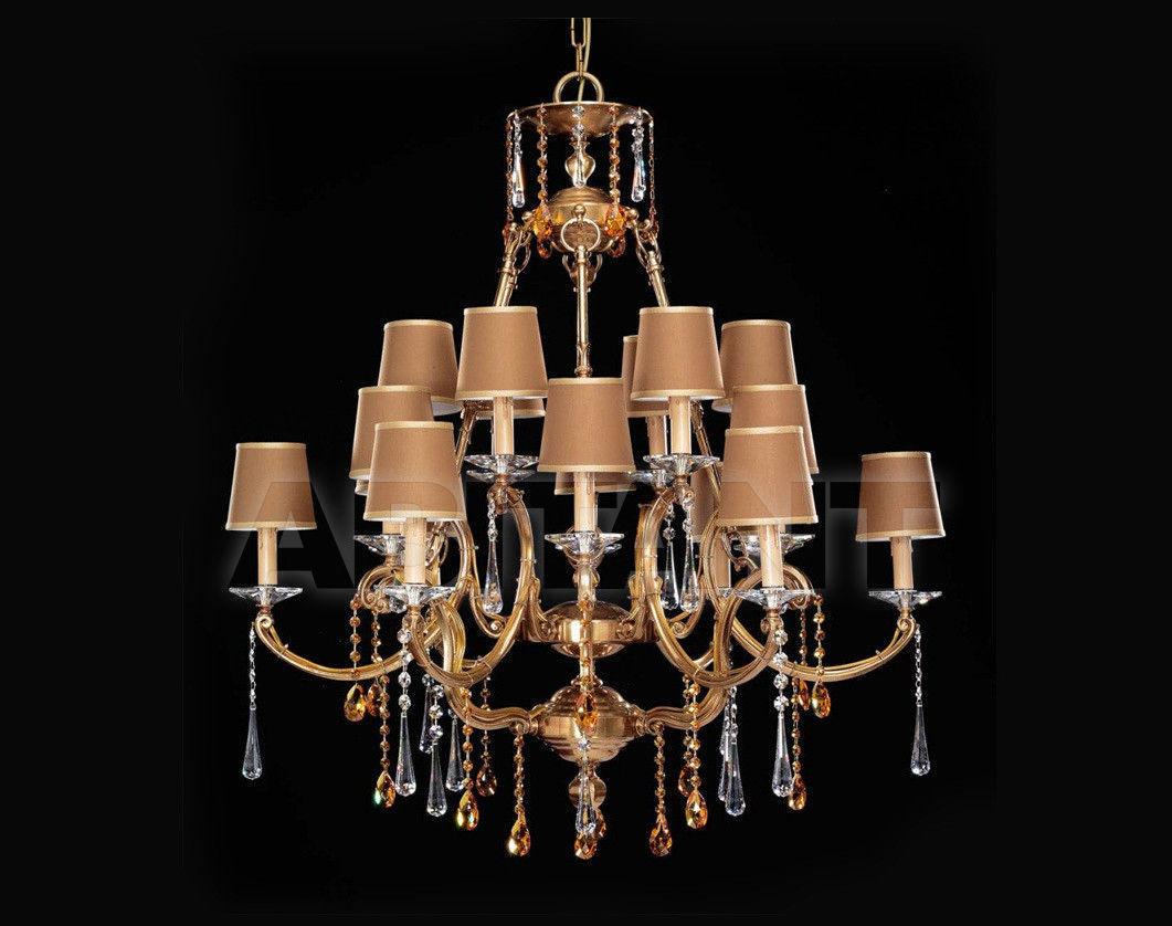 Купить Люстра Badari Lighting Candeliers With Crystals B4-450/18SW