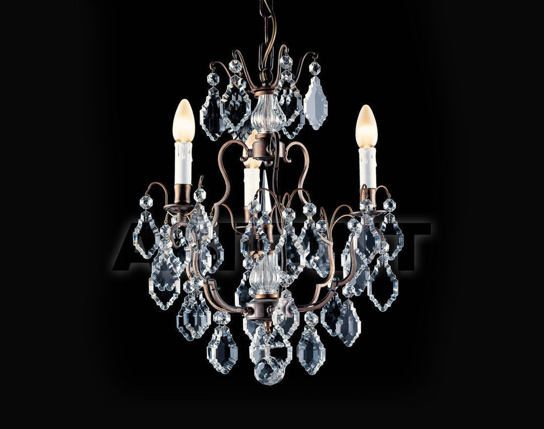 Купить Люстра Badari Lighting Candeliers With Crystals B4-570/3