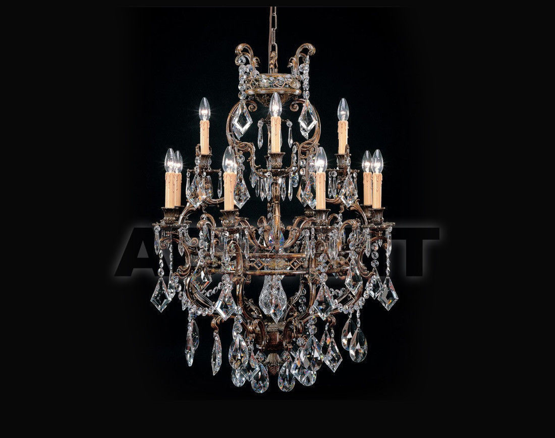 Купить Люстра Badari Lighting Candeliers With Crystals B4-441/12