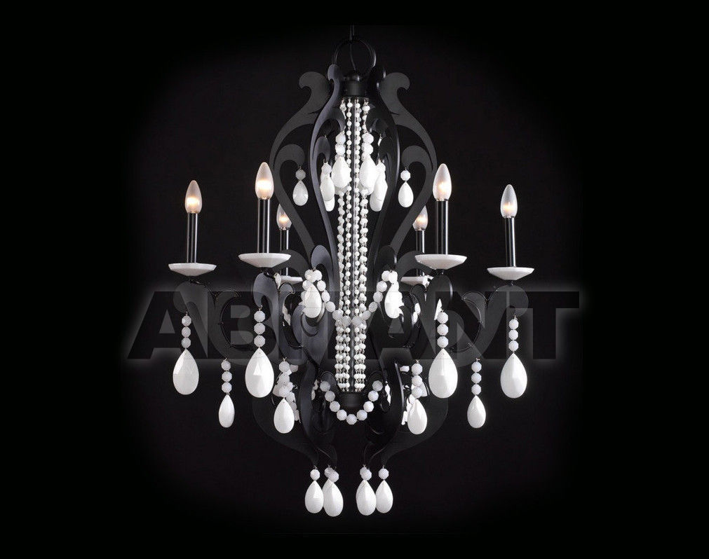 Купить Люстра Badari Lighting Candeliers With Crystals B4-30006 BW
