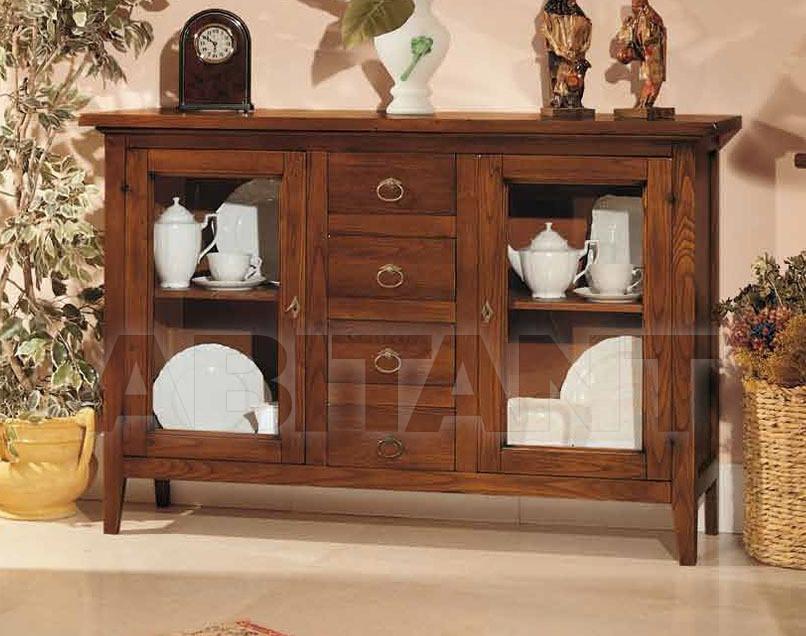 Купить Буфет Rossin & Braggion Abitare-nel-classico Art. 50 Credenza 2 porte vetro