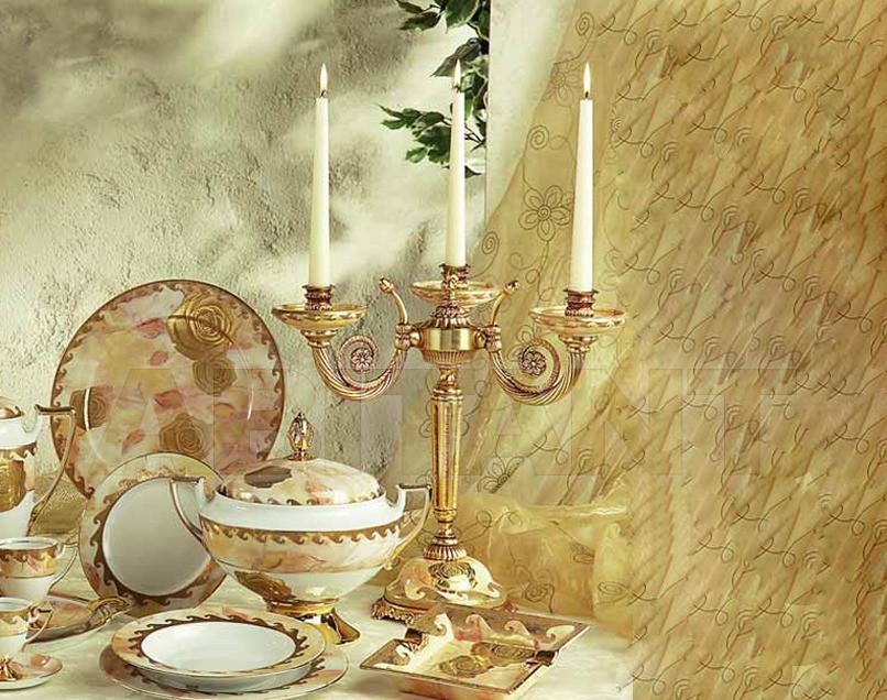Купить Подсвечник Sarri Golden Roses 166858/3C