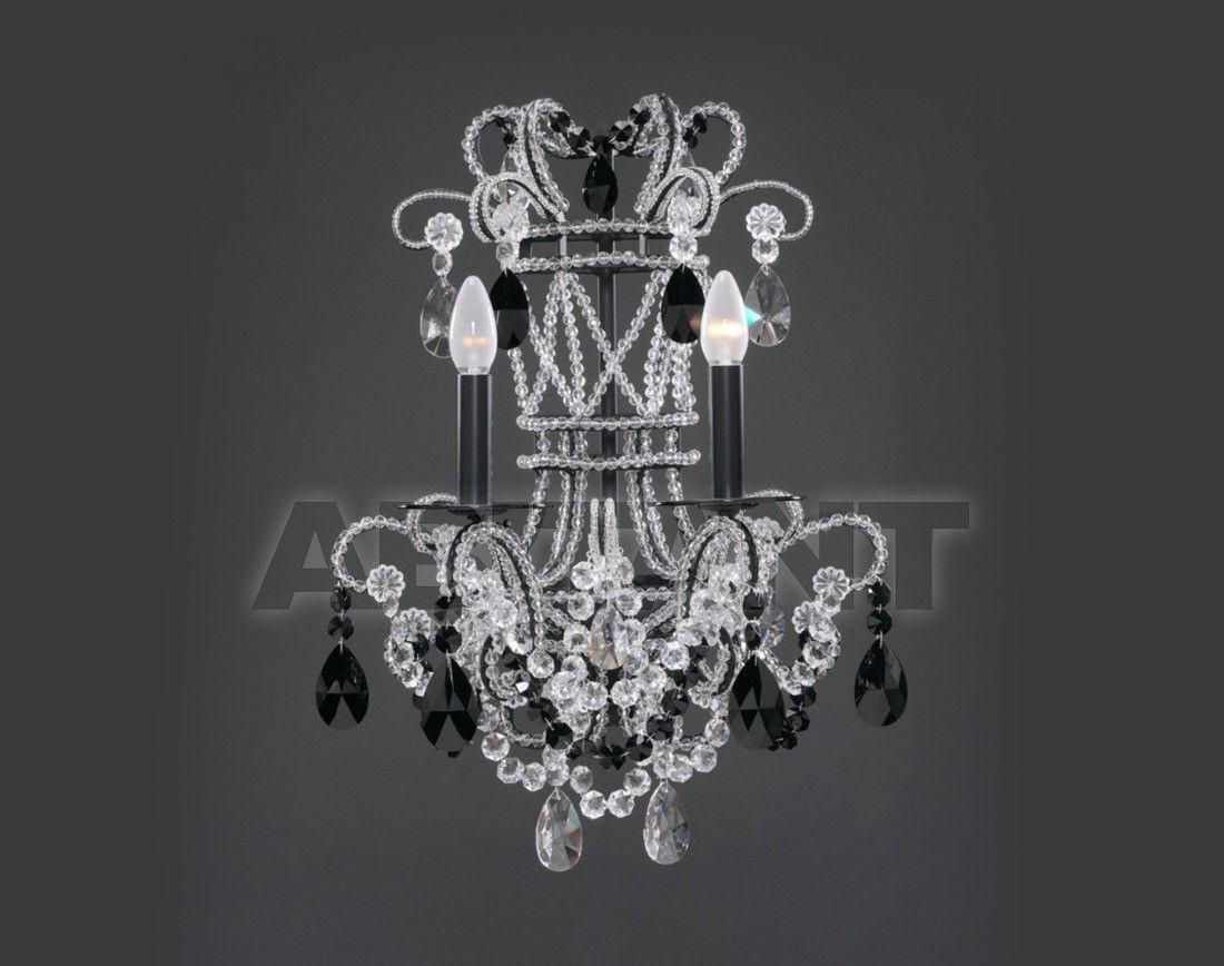 Купить Светильник настенный Badari Lighting Wall Lamps With Crystals A8-43/2SBLK