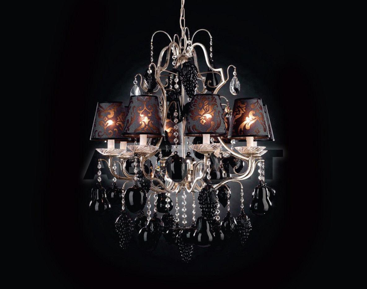 Купить Люстра Tredici Design Tredici Design Collections 1315.8FG CP black