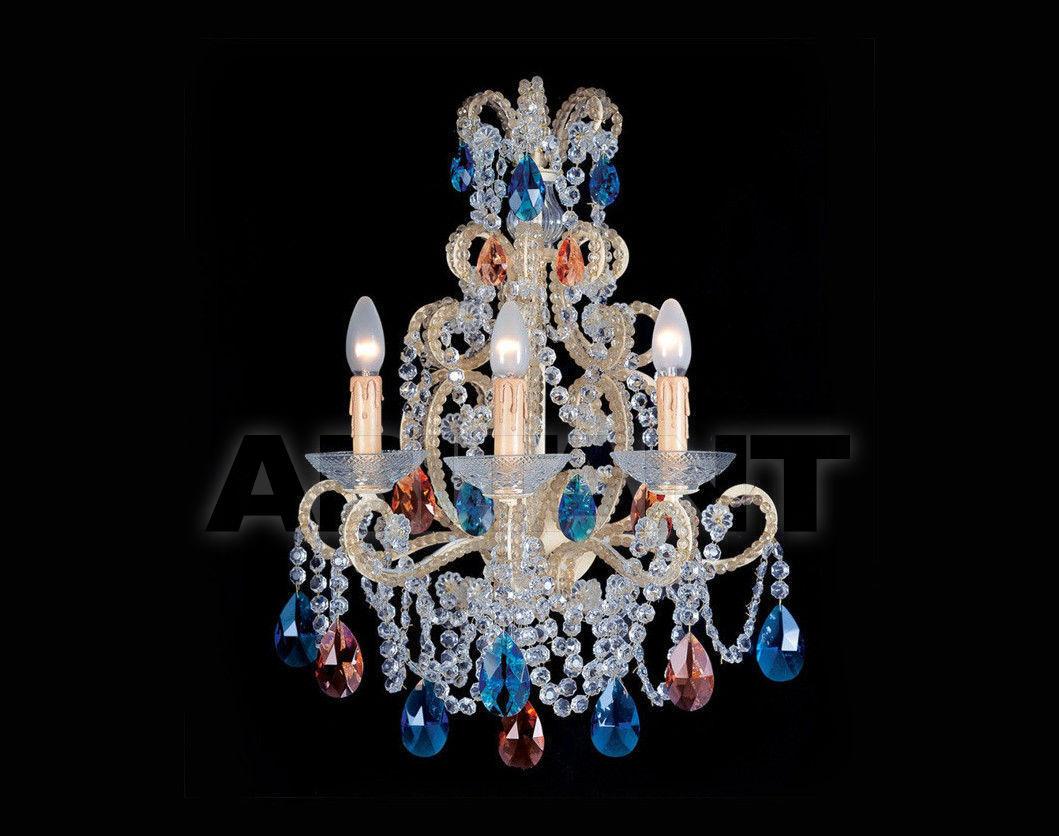 Купить Светильник настенный Badari Lighting Wall Lamps With Crystals A8-55/3MULTIC