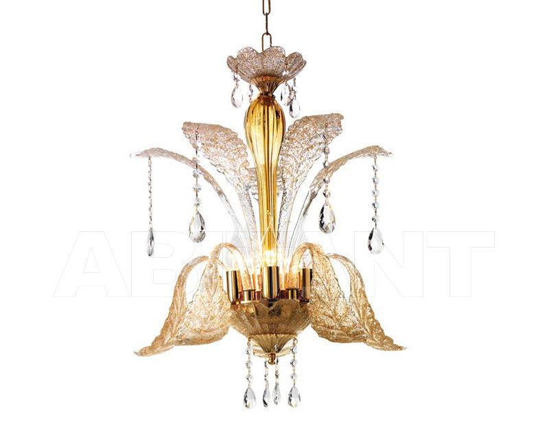 Купить Люстра Ciciriello Lampadari s.r.l. Lighting Collection GOCCIA ambra sospensioni 5 luci
