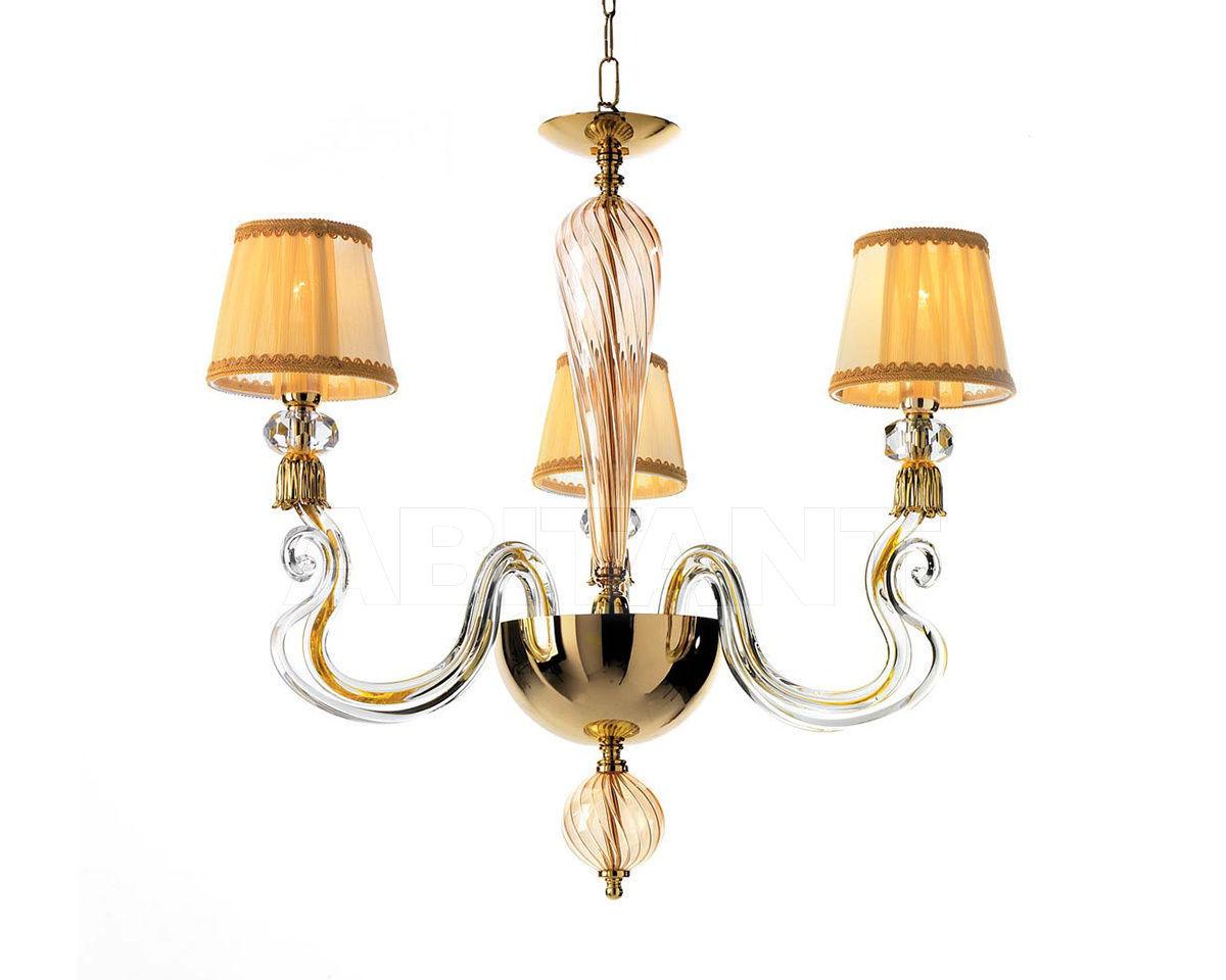 Купить Люстра Ciciriello Lampadari s.r.l. Lighting Collection PETUNIA lampadario 3 luci