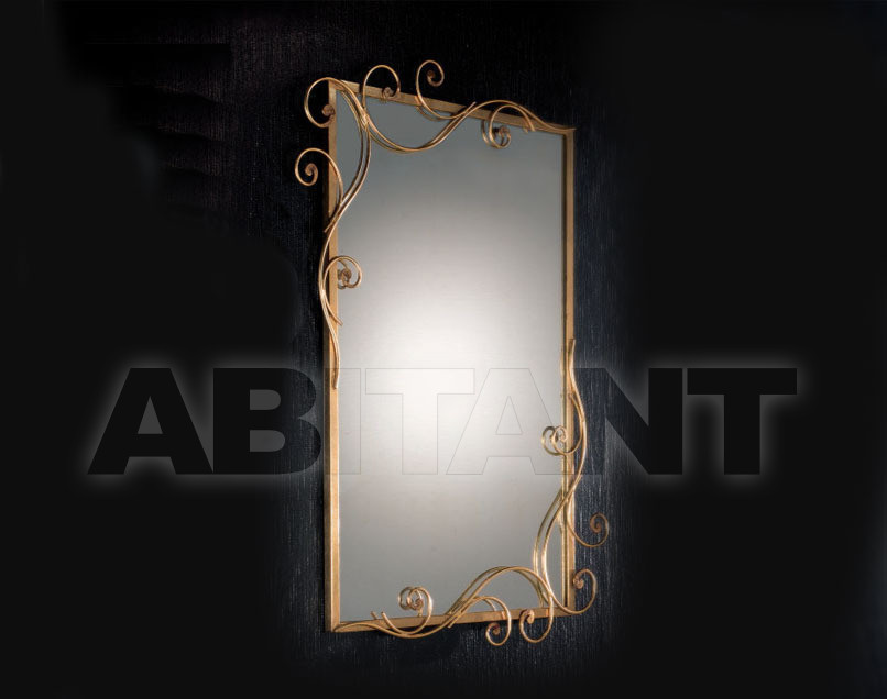 Купить Зеркало настенное DAMASCO Masca Sommary 1828/SP * oro