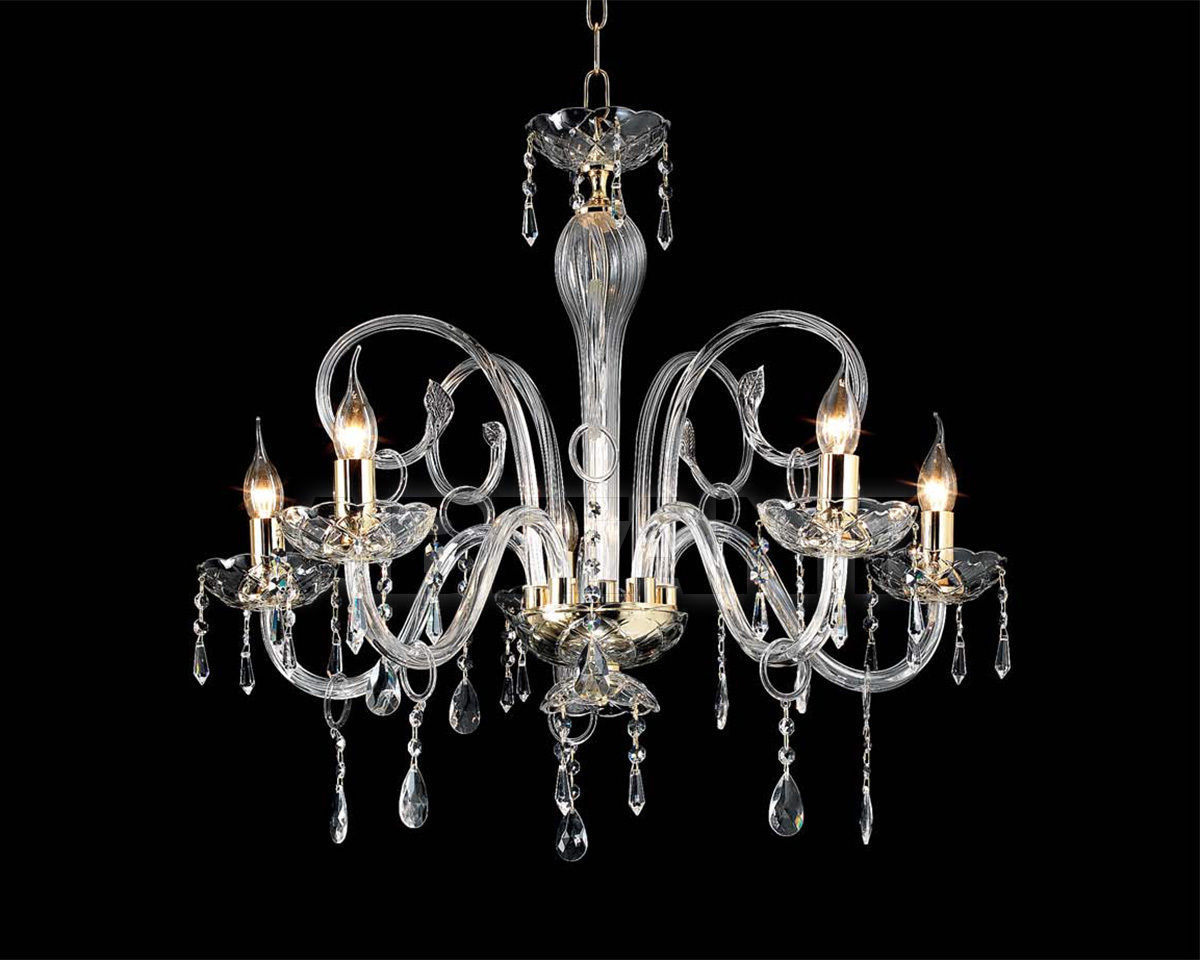 Купить Люстра Ciciriello Lampadari s.r.l. Lighting Collection MARIA TERESA L6 lampadario 5 luci