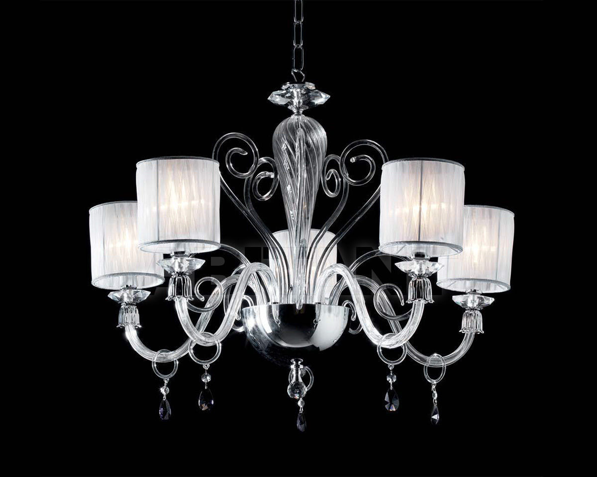 Купить Люстра Ciciriello Lampadari s.r.l. Lighting Collection LUCY lampadario 5 luci