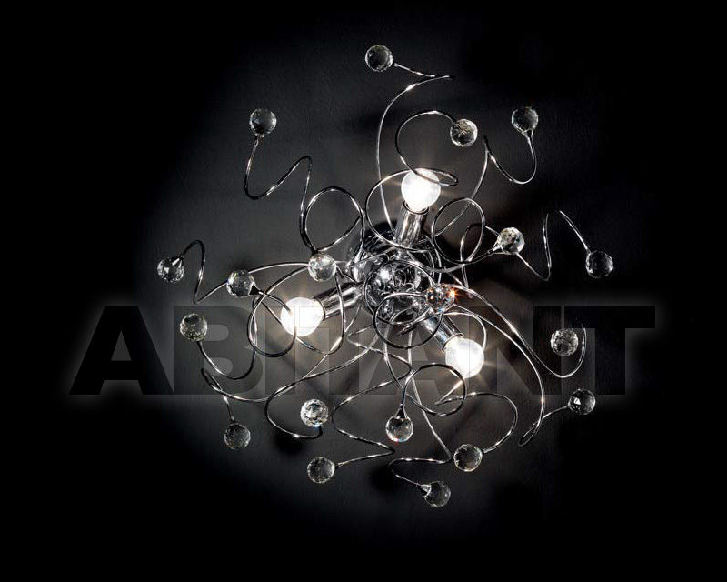 Купить Люстра Ciciriello Lampadari s.r.l. Lighting Collection PALLA cromo plafoniera 3 luci