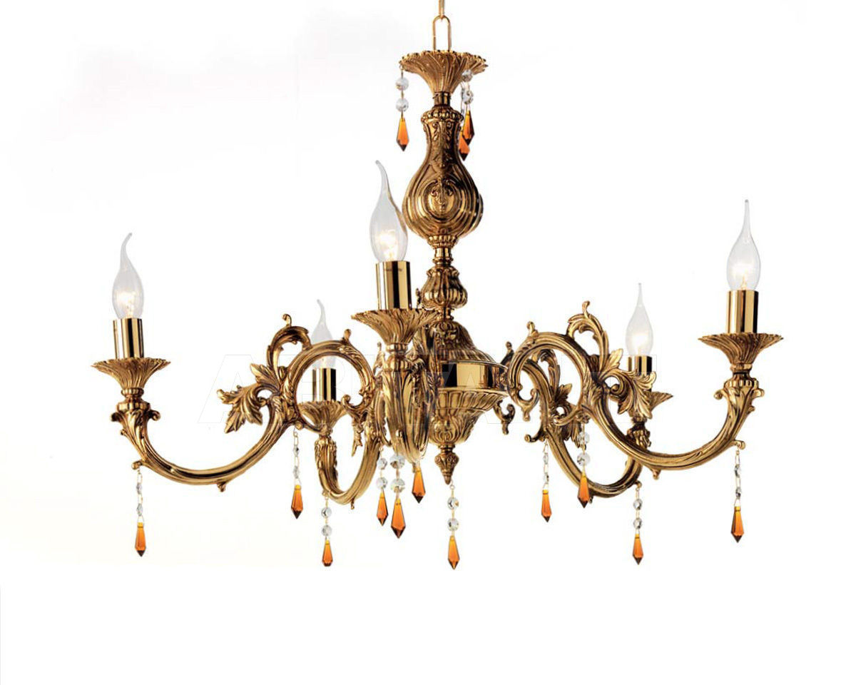 Купить Люстра Ciciriello Lampadari s.r.l. Lighting Collection 531 lampadario 5 luci
