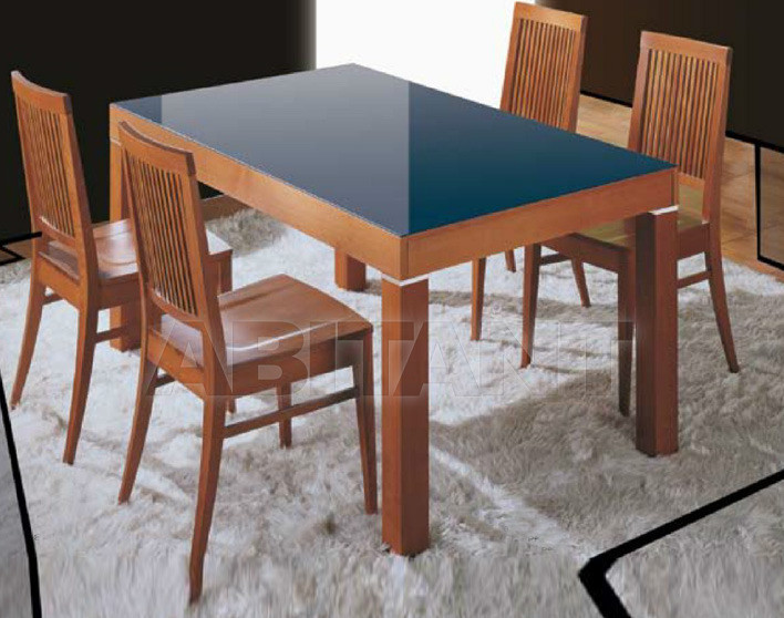 Купить Стол обеденный Di Lazzaro Tavoli Vetro RIFLESSI - t 94