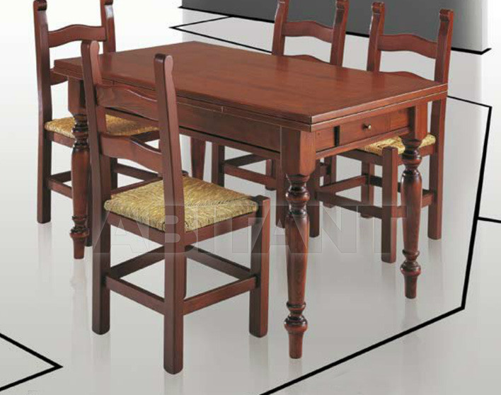 Купить Стол обеденный Di Lazzaro Tavoli Classici FOCOLARE - t 12